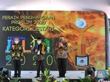 Desa Binaan PTBA Raih Penghargaan Proklim Lestari 2020