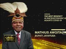 Bupati Jayapura Raih CNBC Indonesia Award
