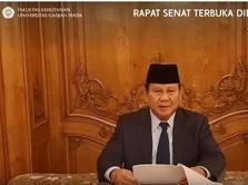 Prabowo Bicara Krisis Pangan: Banyak Negara Hentikan Ekspor