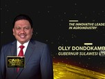 Olly Dondokambey Raih The Innovative Leader In Agroindustry