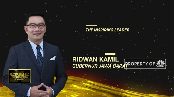 Ridwan Kamil, The Inspiring Leader CNBC Indonesia Award 2020(CNBC Indonesia TV)