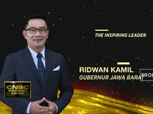 Ridwan Kamil, The Inspiring Leader CNBC Indonesia Award 2020