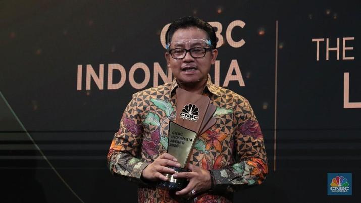 Wali Kota Malang, Sutiaji mendapat penghargaan