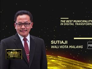 Sutiaji, The Best Municipality in Digital Transformation 2020