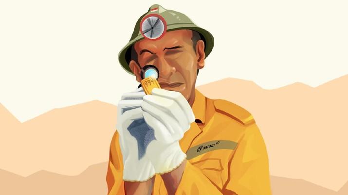 INFOGRAFIS, Ini Dia Harta Karun Gunung Emas Blok Wabu