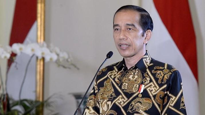 Presiden Joko Widodo (Jokowi). (Biro Pers Sekretariat Presiden/ Kris)