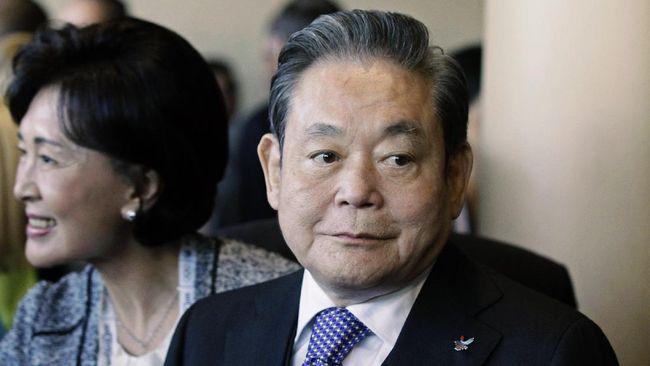 Penuh Skandal, Kisah Bos Samsung Lee Kun-hee yang