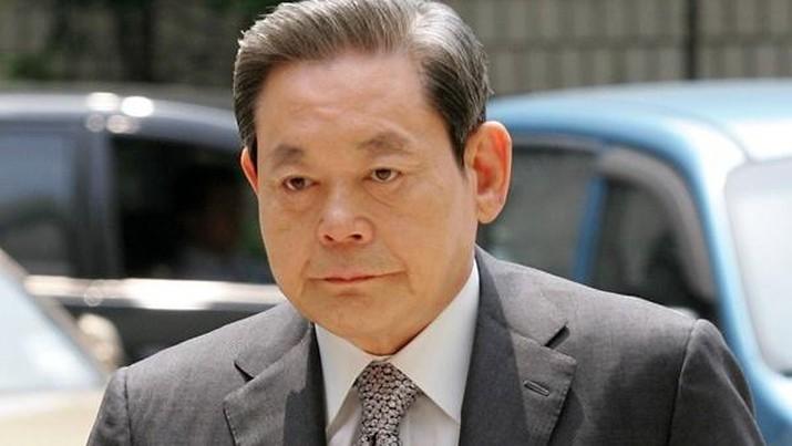 Lee Kun-hee. AP/