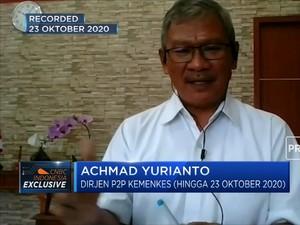 Achmad Yurianto: RI Dapat Alokasi 3 Juta Vaksin Sinovac