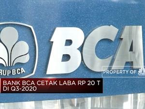 Bank BCA Cetak Laba Rp 20 T Di Q3-2020