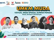 Wirausaha Sosial, BNI Gelar UMKM Muda Virtual Week Spesial