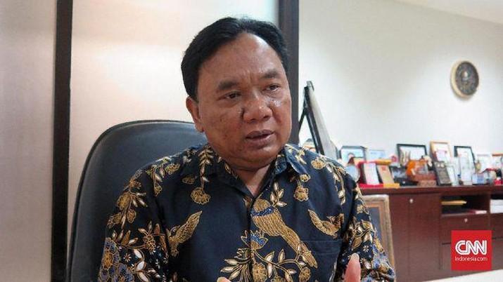 Erick Thohir menunjuk eks tim sukses Jokowi Eko Sulistyo menjadi komisaris PT PLN (Persero). (CNN Indonesia/Feri Agus Setyawan).