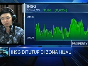 Awal Pekan Jelang Long Weekend, IHSG Ditutup di Zona Hijau