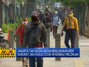 PSBB Transisi Jakarta Diperpanjang Sampai 8 November 2020