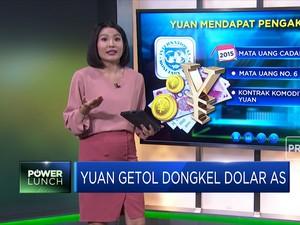 Yuan Getol Dongkel Dolar AS