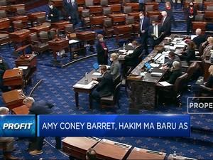 Amy Coney Barret, Hakim Baru AS Gantikan Ruth Bader
