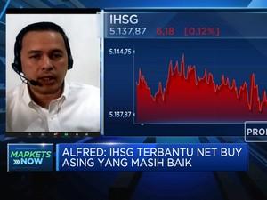 Analis: Net Buy Asing Topang Pergerakan IHSG
