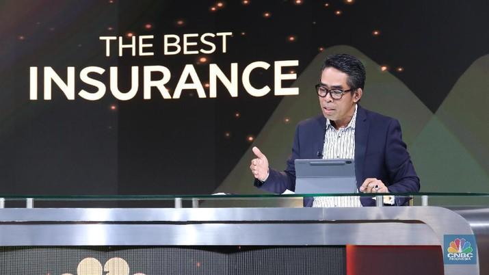 Direktur Utama BRI Insurance Fankar Umran. (CNBC Indonesia/Tri Susilo)
