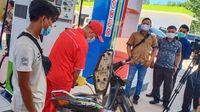 Pertamina Resmikan 3 SPBU BBM Satu Harga di Sumbagsel