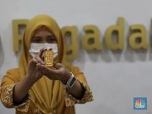 Harga Emas Pegadaian Hari Ini Turun Seceng! Borong, Moms...?