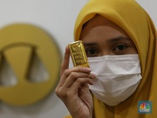 Emas di Pegadaian Ada yang Melesat 2%, Ada yang Anjlok 1,6%