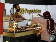 Emas Dunia Melesat Lagi, Emas di Pegadaian Malah Tumbang