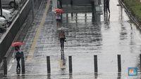 Awas! Jakarta-Jabar Berpotensi Hujan Lebat Hari Ini