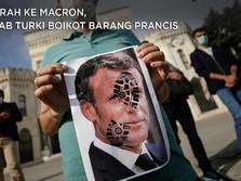 Marah ke Macron, Arab-Turki Boikot Barang Prancis