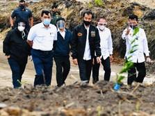 Tanpa Prabowo, Jokowi Blusukan ke Lokasi Lumbung Pangan