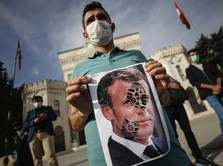 Heboh Boikot Produk Prancis, Negeri Macron 'Berdarah-darah'?