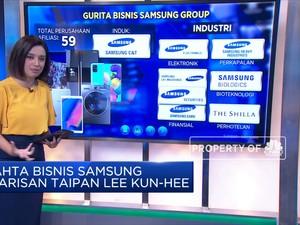 Tahta Bisnis Samsung Warisan Taipan Lee Kun-Hee