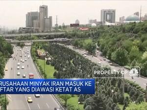 AS Awasi Perusahaan Minyak Iran