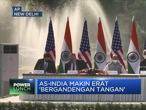 AS-India Makin Erat 'Bergandengan Tangan'