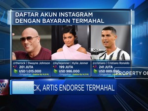The Rock, Artis Endorse Termahal