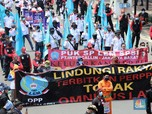 Alert! Jakarta 'Diguyur' Dua Demo Besar Hari Ini
