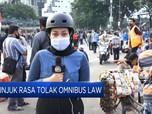 Lagi, Mahasiswa & Buruh Demo Tolak UU Cipta Kerja