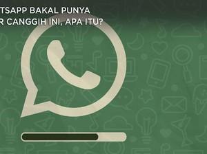 WhatsApp bakal Punya Fitur Canggih ini Lho Gaes, Apa itu?