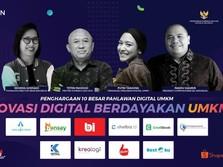 Penuh Inovasi, Inilah Para Pahlawan Digital UMKM 2020