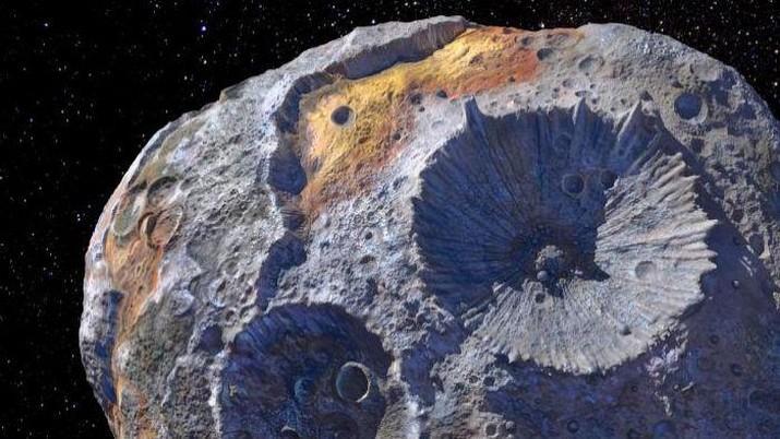 Asteroid Psyhe 16. (Photo : Photo Courtesy of NASA/Newsmakers)