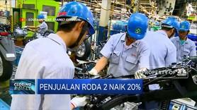 Penjualan Sepeda Motor Naik 20%