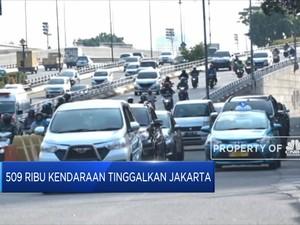 509 Ribu Kendaraan Tinggalkan Jakarta
