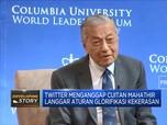 Twitter Hapus Cuitan Mahathir