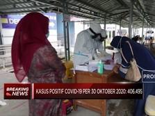 Kasus Positif Covid-19 RI per 30 Oktober Capai 406.495