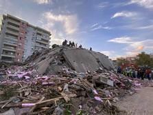 19 Orang Tewas, Puluhan Bangunan Hancur Imbas Gempa di Turki
