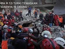 Gempa M 7,0 Turki Tewaskan Setidaknya 19 Orang, 700-an Luka