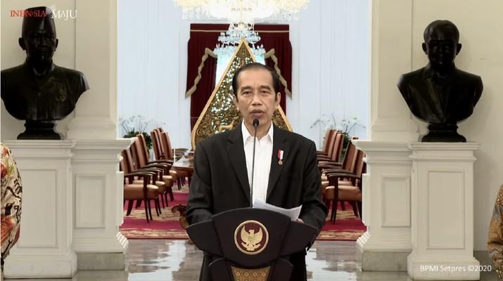 Keterangan Pers Presiden RI, Jokowi Istana Merdeka, 31 Oktober 2020. (Youtube/Sekretariat Presiden)