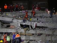 Gempa Turki & Tsunami: 39 Orang Tewas, 800 Lebih Luka-Luka
