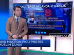 Aksi Macron Picu Protes Muslim Dunia