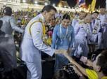 Raja Thailand Turun Tangan, Ini Pesan Khusus ke Para Pendemo
