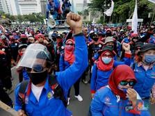 Jokowi Teken Omnibus Law, Tak Ada Ampun Buruh Langsung Gugat!